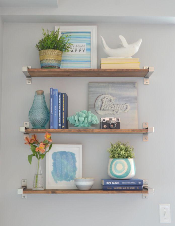 Excellent Simple Styling Bathroom Shelves  Glisten Amp Grace