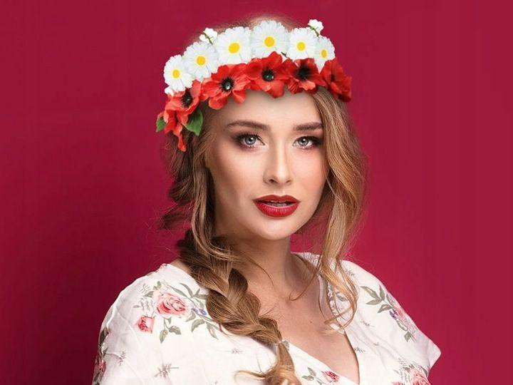 Wianek Kibica Z Kwiatkow Narodowy Bialo Czerwony 7313182988 Oficjalne Archiwum Allegro Fashion Crown Jewelry Crown