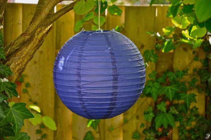 Lampion - Donker paars (30 cm & 40 cm)