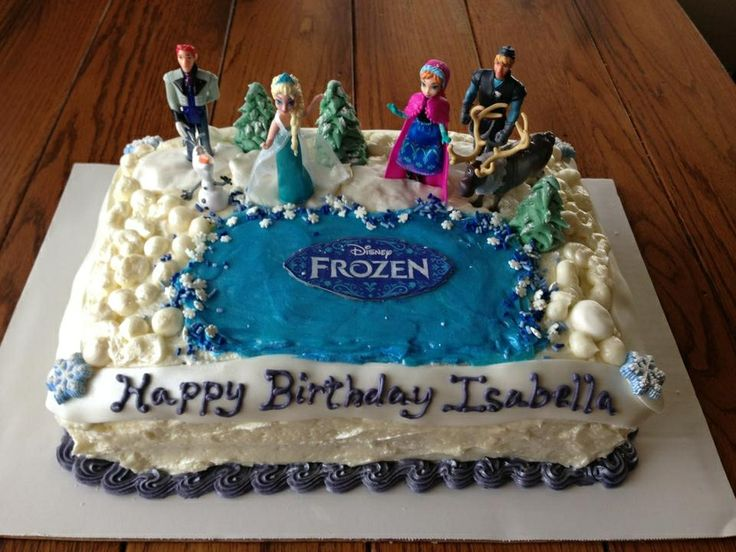 Image result for publix Frozen birthday cakes for girls