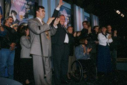 Campagne référendaire de octobre 1995.