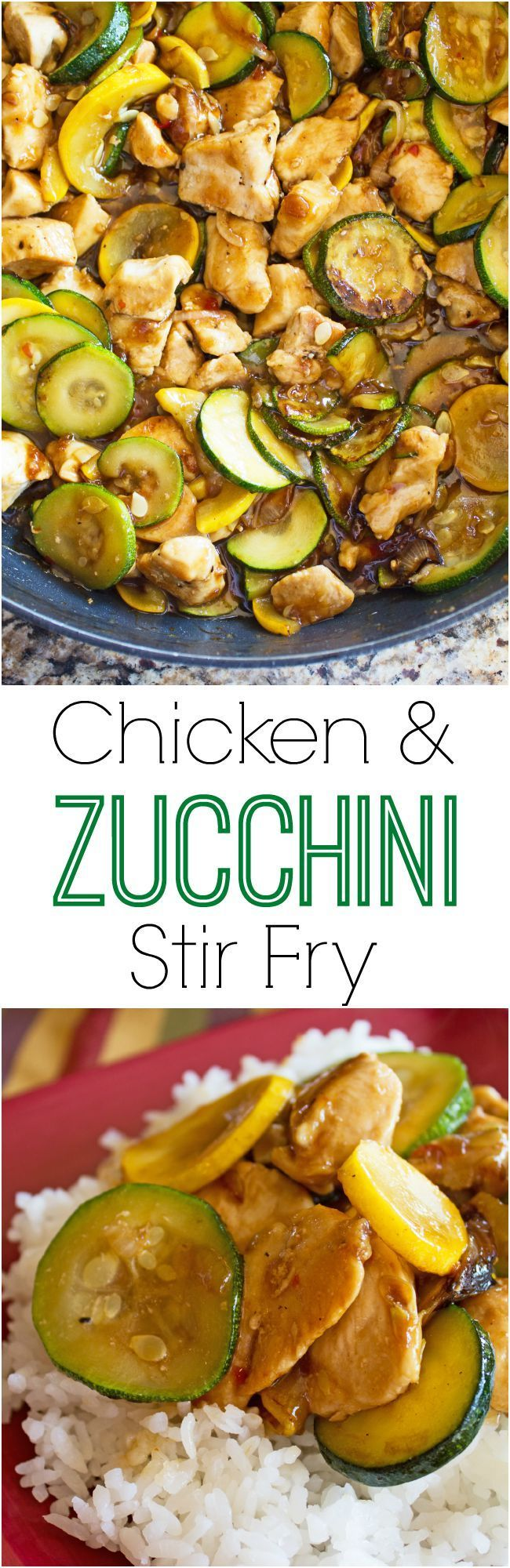 Chicken and Zucchini Stir Fry