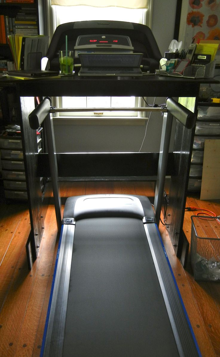 """Transitioning to a Treadmill Desk is Easier Than You Think!    Remember when I posted about the risks of sedentary work and the benefits of the treadmill desk? And remember when I said I was going to ask """"The Hubster"""" (aka, my hubby, Leo) to help me build a treadmill desk? Well, it happened and I've been on this thing for a week. And. I. Love. It."""