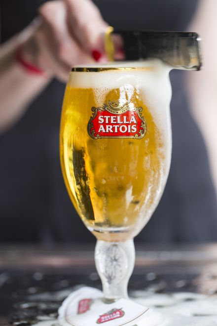 Stella Artois - 2014 Gold Sponsor | Gotta get me a chalice like this one so I can properly enjoy my favorite beer.