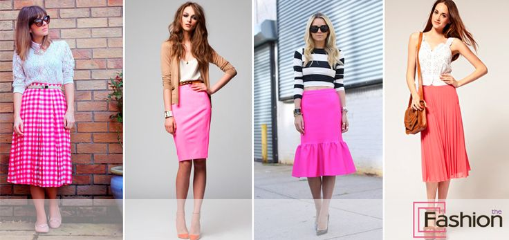 розовая юбка карандаш - Поиск в Google