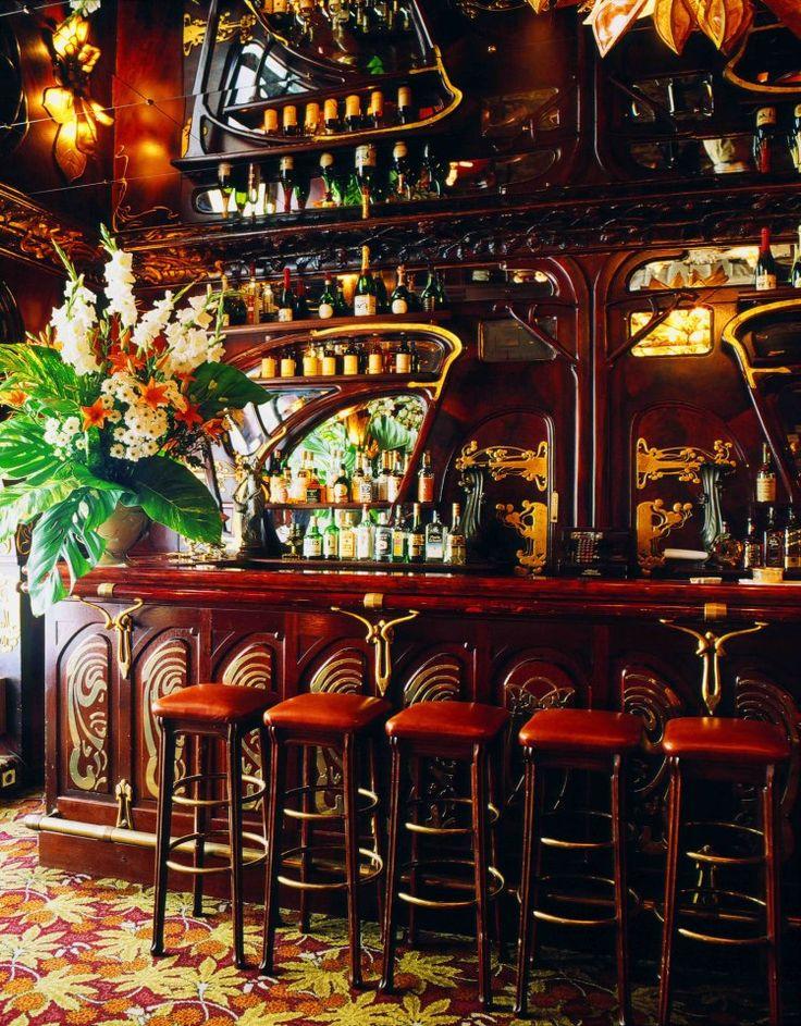 Maxim's - Paris - Art Nouveau Invitation