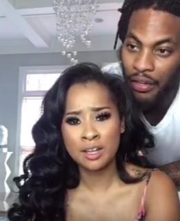 Waka Flocka and Tammy Breakup Is Over, But The Struggle Is Real... http://www.1starcutie.com/2016/07/waka-flocka-and-tammy-breakup-is-over.html