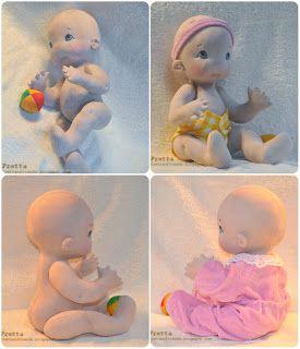 """Fretta: Baby Doll. 16 """"/ 40,6 см Все натуральной мягкой Скульптурные Объединенная ребенка и прорезывания зубов игрушку."""