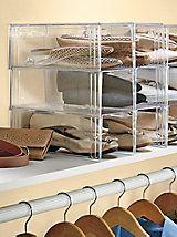 Shoe-eze- plastic shoe boxes & containers - storage solutions | Solutions.com