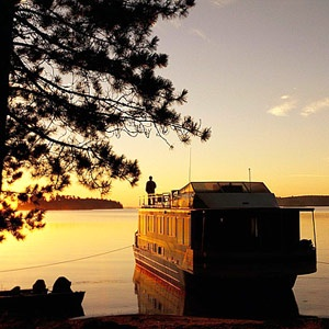 Voyageurs National Park - 218,000 acre national park, without roads! Main transport is boats. In International Falls, #Minnesota    http://www.midwestliving.com/travel/destination/minnesota/north-minnesota-attractions/#