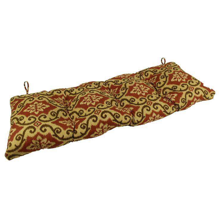 Lava Shoreham Richloom Brick Sunbrella Outdoor Bench/Glider Cushion - LAVA26-0047