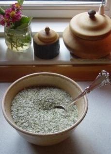 Grøn urtesalt