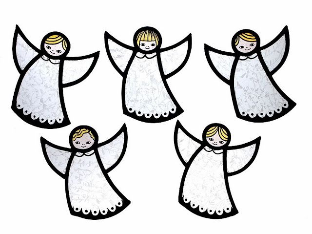 Through The Round Window: Contemporary Stained Glass Angels