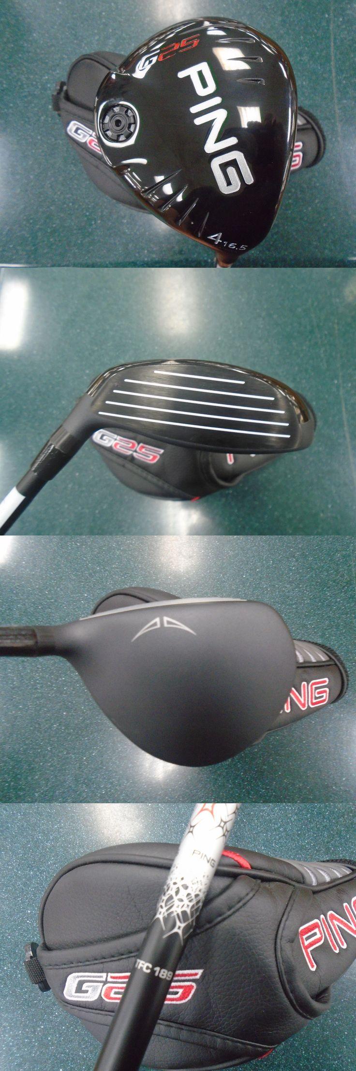 Golf Clubs 115280: Ping G25 16.5* Fairway 4 Wood Stiff Flex Golf Club BUY IT NOW ONLY: $149.99