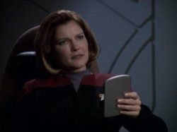 Kate Mulgrew in Star Trek: Voyager (1995)