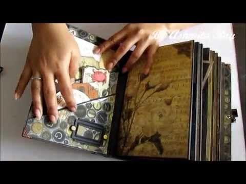DCWV Timeless Type Junk Journal - YouTube