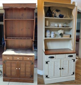171 Best Painted Hutch Images On Pinterest