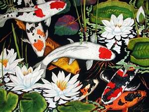 87 best images about fish on pinterest koi fish tattoo for Koi art nature