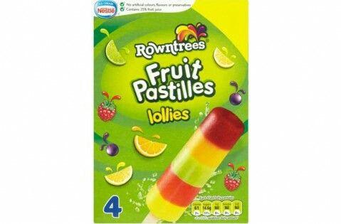 Fruit Pastilles Lollies