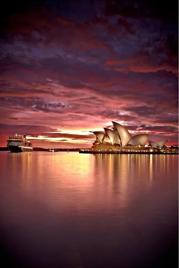Sydney harbor. Bucket list. Can't wait for January!!!