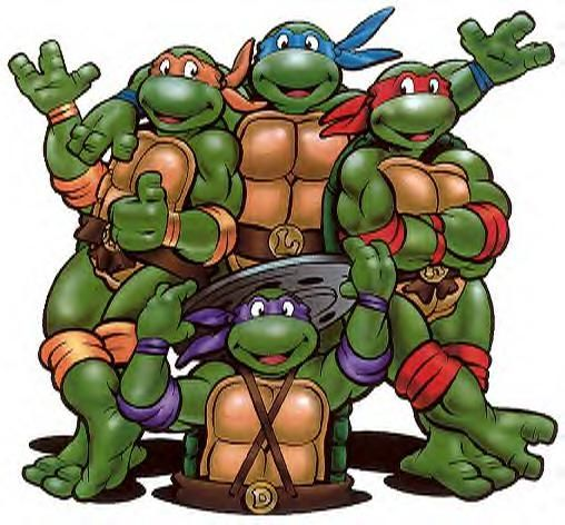 The Teenage Mutant Ninja Turtles!!!! My favorite cartoon! Why can't they ever leave the good stuff alone????