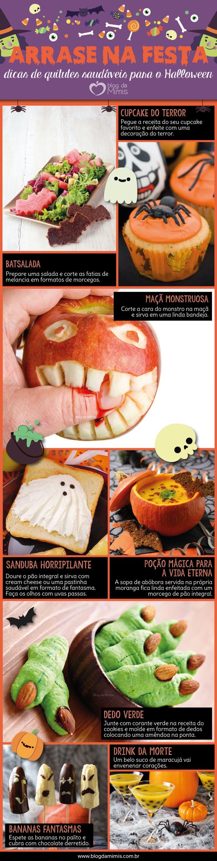 Arrase na festa: dicas de quitutes saudáveis para o Halloween - Blog da Mimis #halloween #diadasbruxas #dicas #lanches #quitutes #festa
