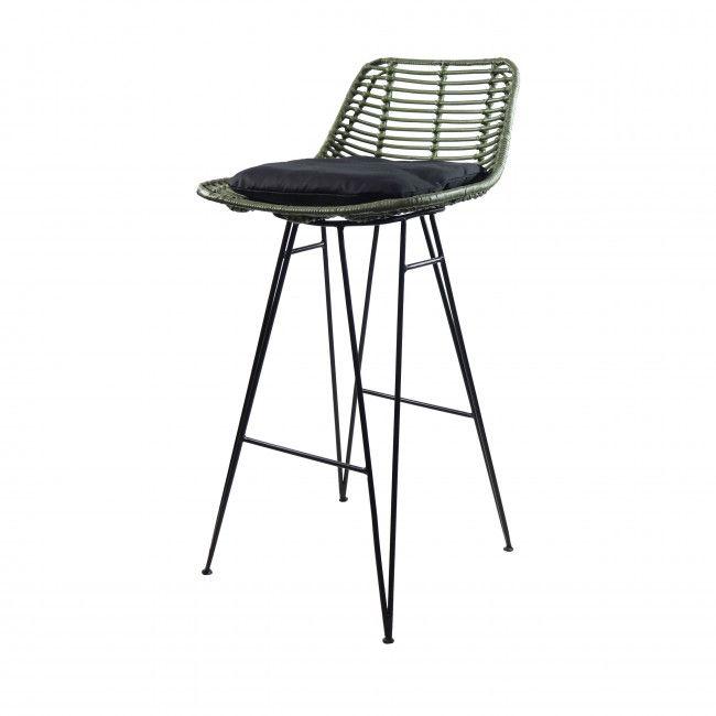 Capurgana Chaise De Bar Design En Rotin 67cm En 2020 Chaise De Bar Design Chaise Bar Tabouret De Bar
