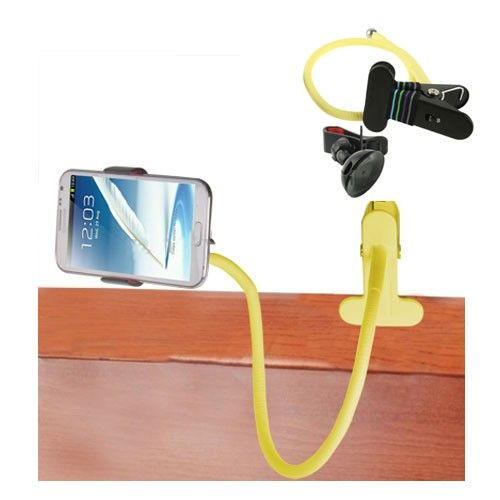 Snake Style Smartphone Holder (Yellow)