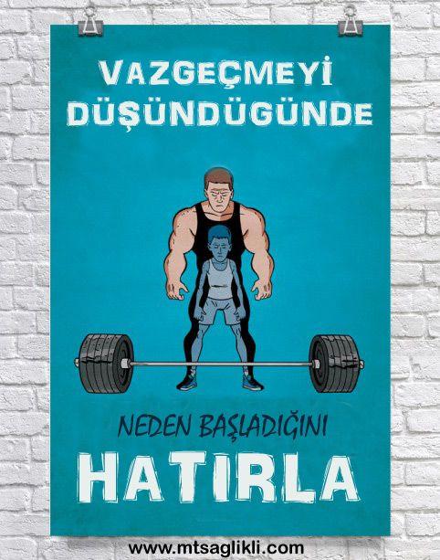 Vazgeçmek mi? #Gym #Motivasyon #Spor #Egzersiz #SporPoster #Poster #Fitness #BodyBuilding #VucutGelistirme #istikrar #SporBlog #Mtsaglikli #FitnessBlog Vazgeçmeyin ve Türkiye'nin en kapsamlı spor ve fitness blog sayfası olan www.mtsaglikli.com 'u takip edin.