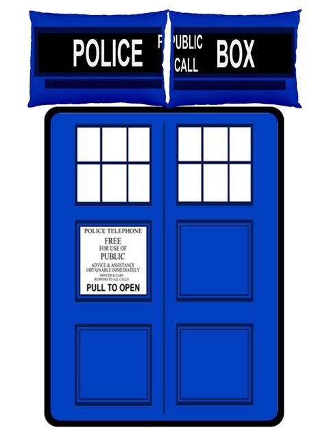 TARDIS Bed Set with Pillows  AHHHHHHHHHHHHHHHHHHHHHHHHHHHHHHHHHHHHHHHHHHHHH!!!!!!!!!!!!!!!!!!!!!!!!!!!!!!!!!!!!!!!!!!!!!!!!!!!!!!!!!!!!!!!!!!!!!!!!!!!!!