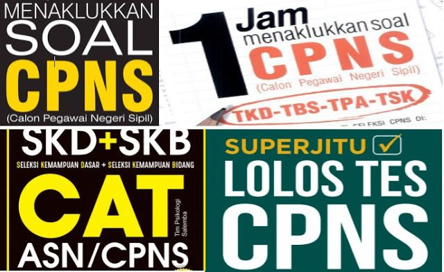 Download Ebook Lengkap Soal Cpns 2019 Pdf Twk Tiu Tkp Skb Tryout E Book Latihan Aplikasi