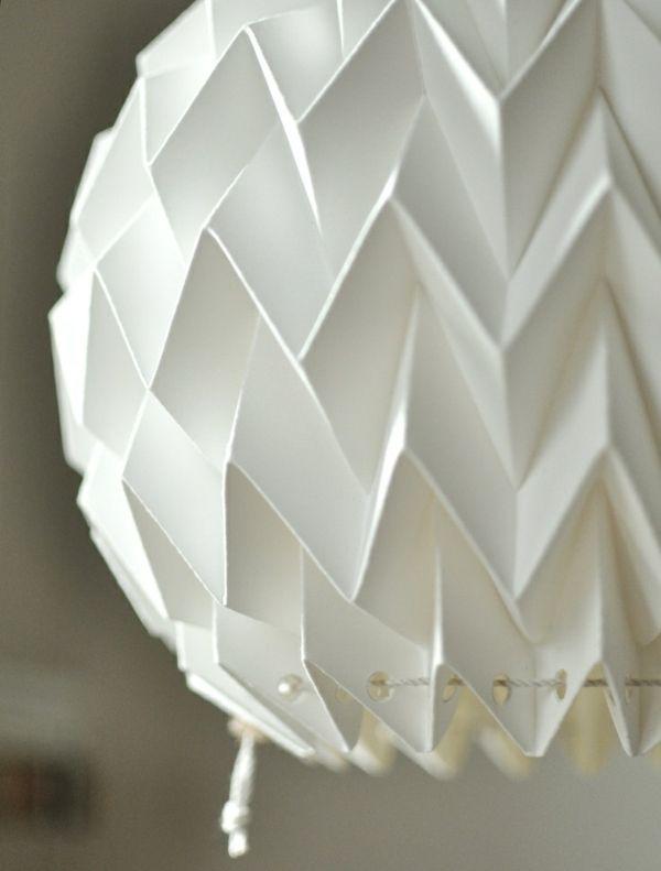 pendelleuchte papier frisch bild und acdabfbcfb origami lamp origami paper