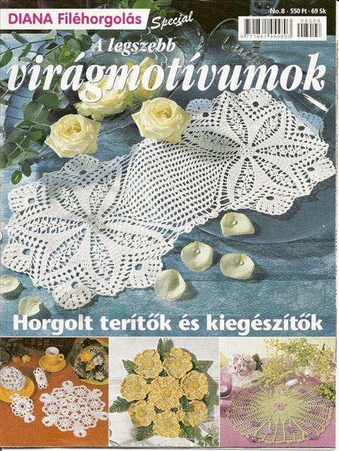 Diana filehorgolas 08 Especial - sevar mirova - Picasa Web Albums #crochetmagazine