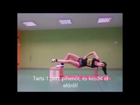 Belső comb formálás - Haladó gyakorlatsor - Inner tight workout
