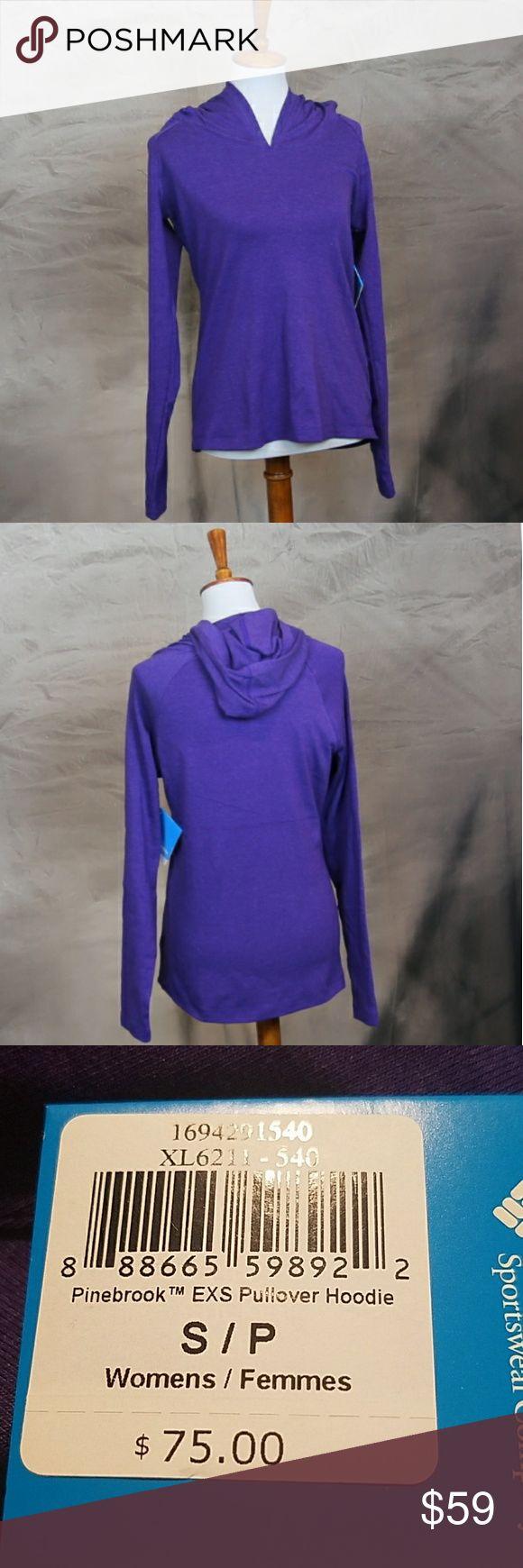 NWT Columbia Sportswear Pinebrook pullover hoodie NWT Columbia Sportswear Pinebrook pullover hoodie. Purple. S Columbia Tops Sweatshirts & Hoodies