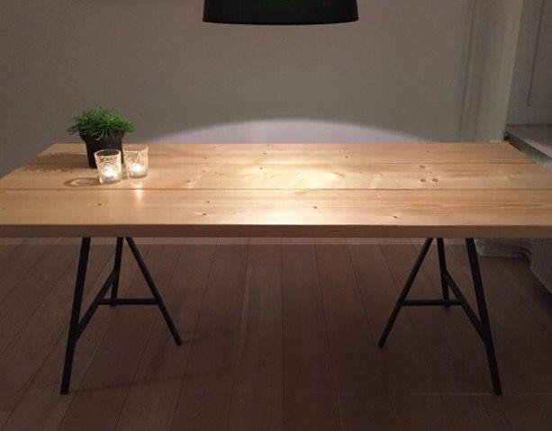 Plankebord lavet på mål   http://www.dba.dk/spisebord spaertrae ...
