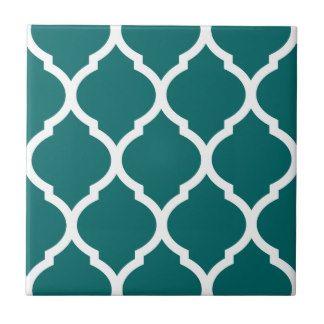 Azulejo modelado Quatrefoil do marroquino da cerce