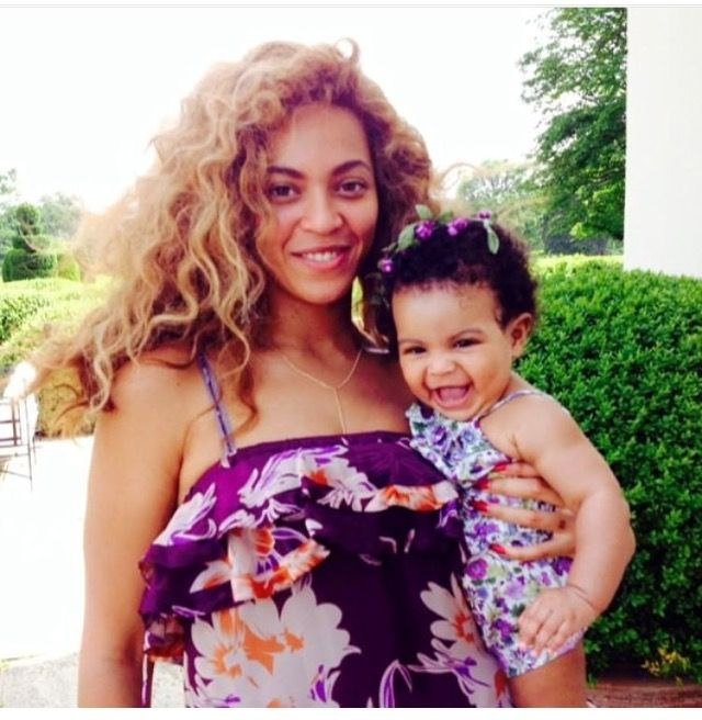 #Beyoncé & baby Blue Ivy