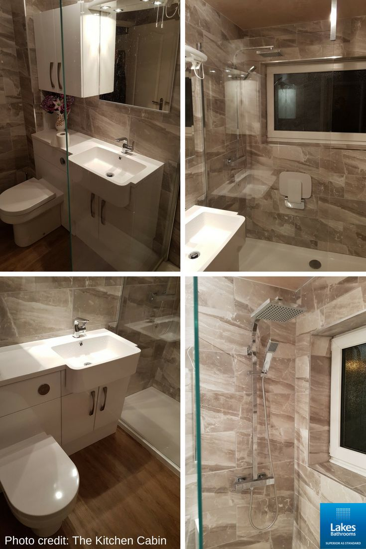Thanks to our client The Kitchen Cabin for sharing this stunning bathroom with us - it's beautiful!   It features our popular Cannes Shower Screen which is suitable for wet room or tray installation.