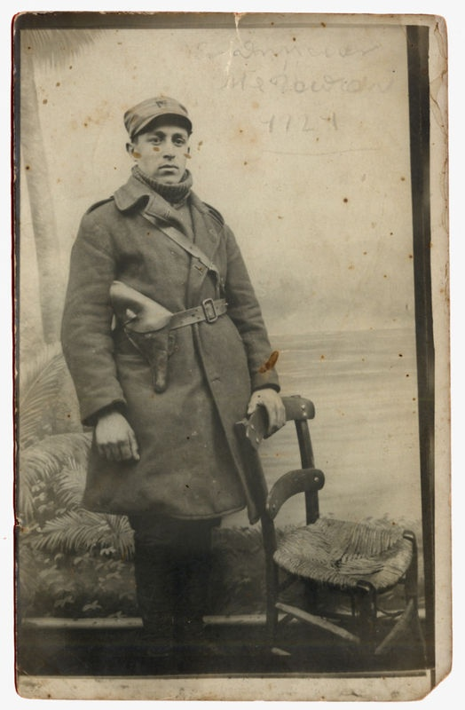 1921 Greek soldier in Asia Minor