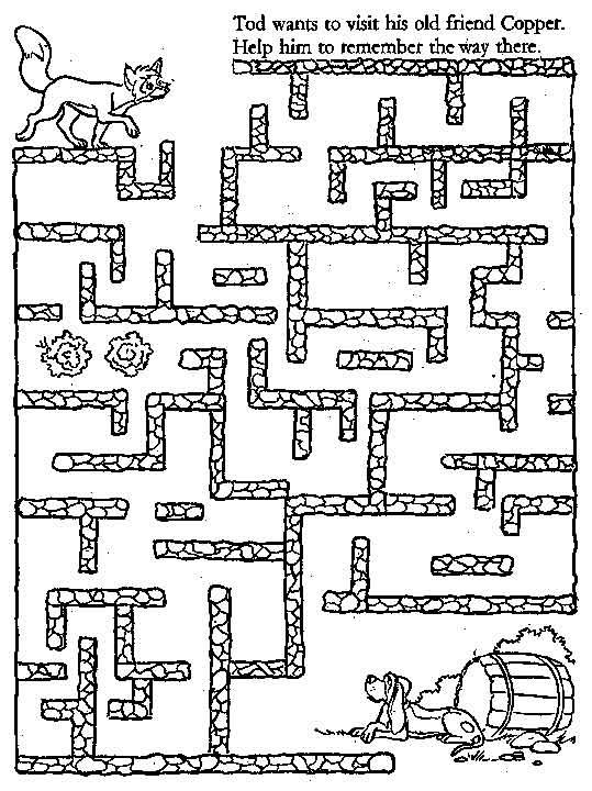 Free Printable Kids Mazes~ very easy to more difficult mazes offered here