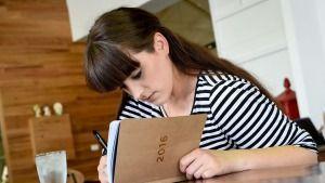 Handwritten diaries are proving popular.