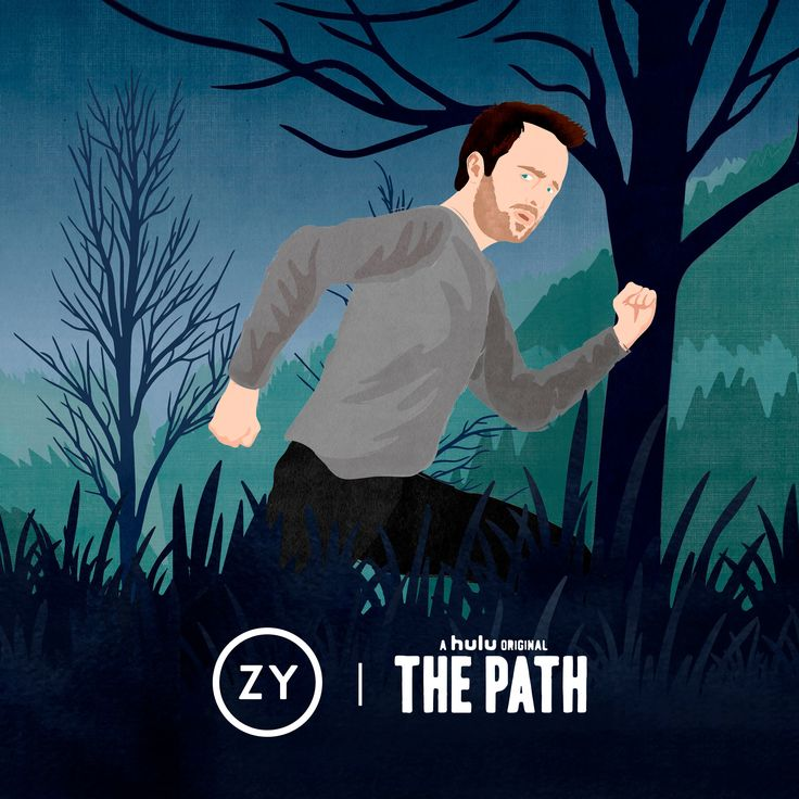 OZY branded content for Hulu's The Path ©Benedetto Cristofani, all right reserved  http://thepath.ozy.com/ #hulu #thepath #aaronpaul #cult #escaping #portrait #ozy #illustration #editorial #editorialillustration #conceptual #conceptualillustration #graphic #graphicdesign