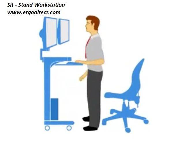 41 Best Images About Sit Stand Workstations On Pinterest