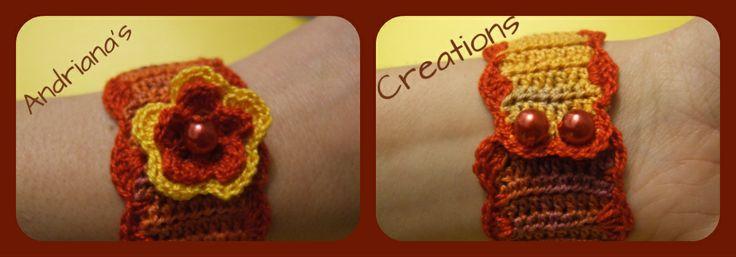 Crocheted cuff
