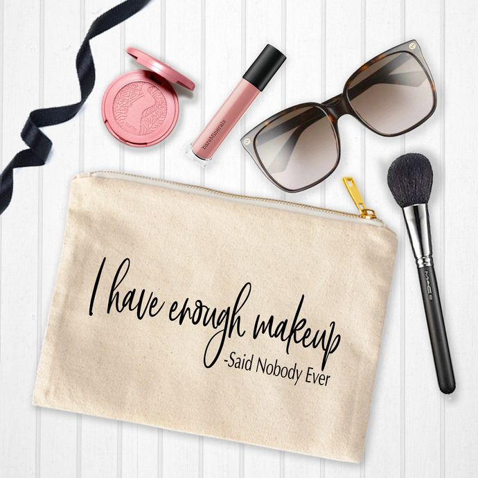 Makeup Bags With Sayings Personalized Toiletry Bag Custom Makeup Pouch Personalized Birthday Gifts Younique Makeup Artist Makeup Bags Custom Makeup Bags Personalized Toiletry Bag Funny Makeup Bag