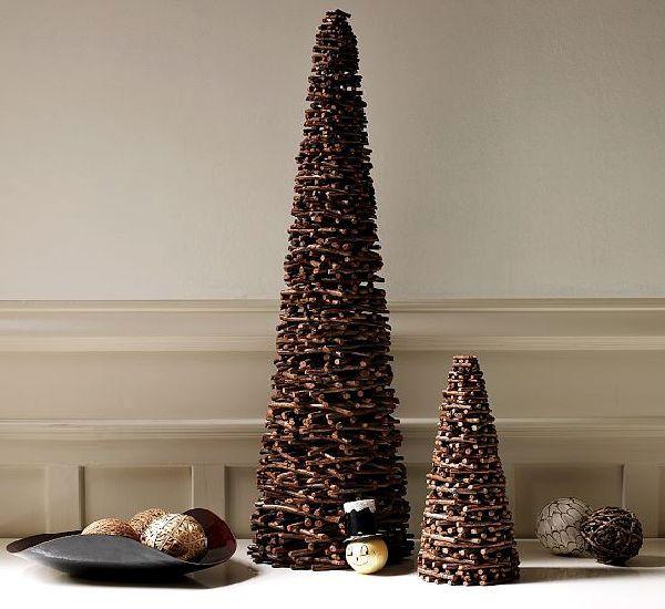 Такие разные новогодние елочки - Ярмарка Мастеров - ручная работа, handmade