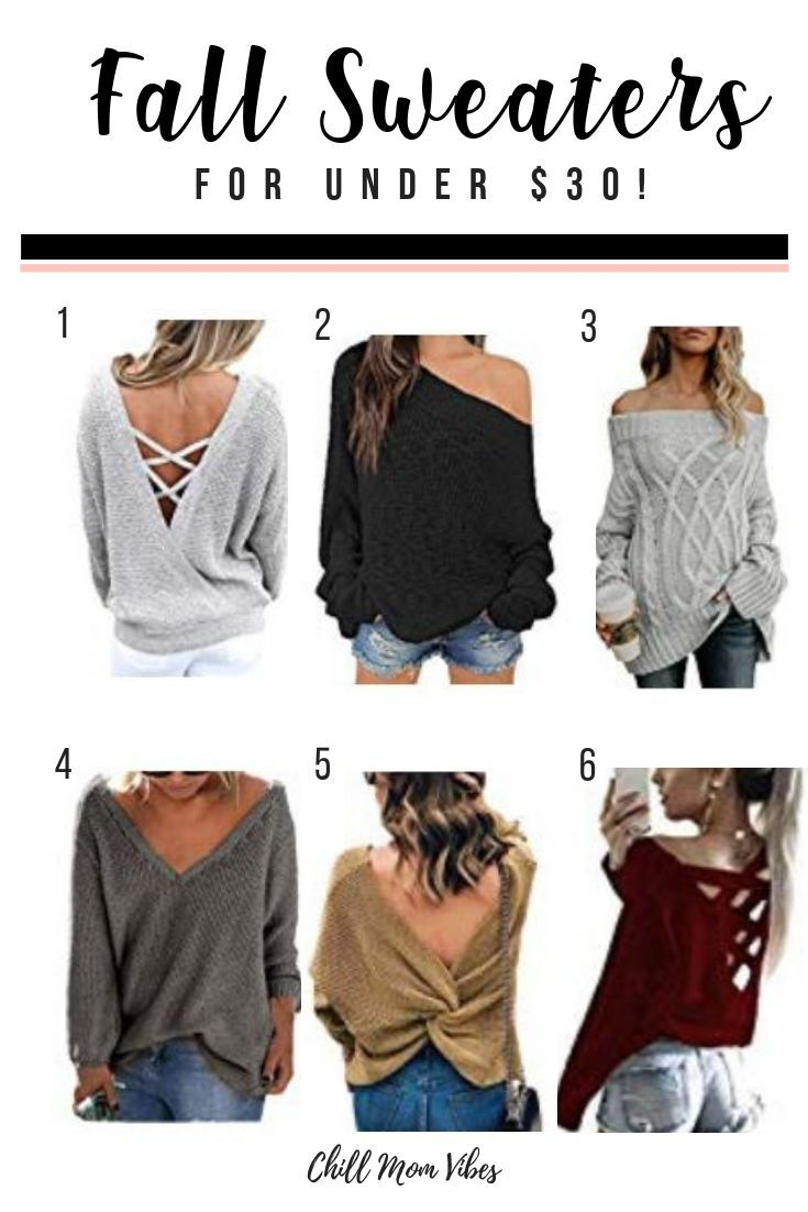 Cute Sweaters Under 30 Perfect For The Fall Fashionista And On