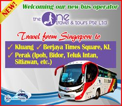 New Bus Operator The One Travel & Tour Offers Day-to-day Departure from Singapore to Malaysia such as Kuala Lumpur Berjaya Instances Square employing Five Stars Express Bus - http://singapore-mega.com/new-bus-operator-the-one-travel-tour-offers-day-to-day-departure-from-singapore-to-malaysia-such-as-kuala-lumpur-berjaya-instances-square-employing-five-stars-express-bus/