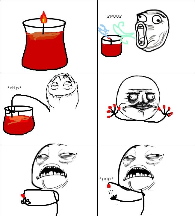 The simple pleasure of candles. ^^